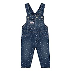 There is almost nothing as adorable as a baby in overalls! we've accented these Levi's denim overalls with fun asymmetrical chest pockets and fixed cross-over straps at the back. We've engineered these overalls to function like a charm: there...