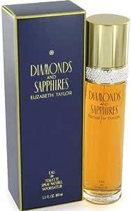 Elizabeth Taylor Diamonds and Sapphires Eau de Toilette, 100 Milliliter