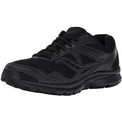 Saucony Men's Cohesion Running-Shoes, Black, 10 M US