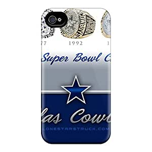 Excellent Hard Phone Covers For Iphone 5s With Allow Personal Design High-definition Dallas Cowboys Pattern JamieBratt