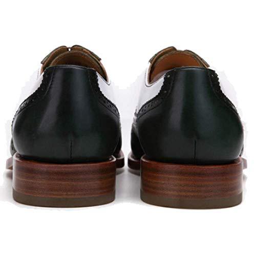 Modelli E Pelle Trend in Inverno Autunno Uomo Casual da Photocolor Retro Stile Britannico Scarpe Goodyear Scarpe rC5Bxrg