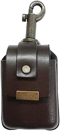 ZIPPO用 革ケース ベルト通し付 BR ブラウン ハンドメイド 日本製