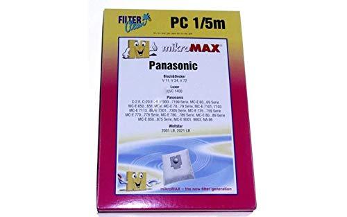Panasonic - Bolsita de bolsas x4 - 7746144: Amazon.es ...