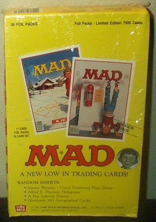 Mad Magazine Trading Cards Box -36 Count ()
