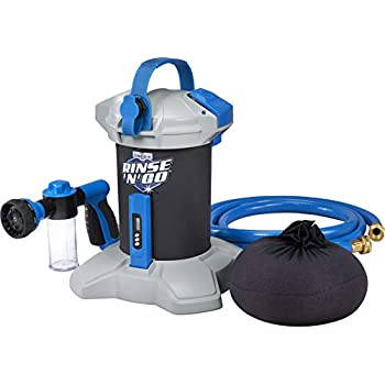 Image of Unger 975450 Rinse 'n' Go Spotless Car Washing System with Deionization Filter Applicators