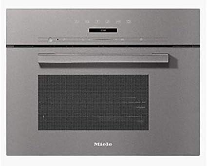 Miele DG 7240 GRGR - Horno de vapor compacto (60 cm), color gris: Amazon.es: Grandes electrodomésticos