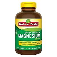Nature Made Extra Strength Magnesium 400 Milligrams - 150 Liquid Softgels