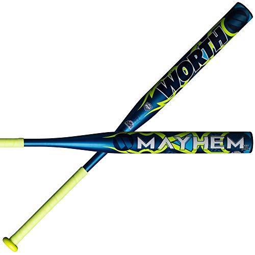 - Worth 2019 Mayhem XL ASA/USSSA Slow Pitch Softball Bat: WM19CA 34