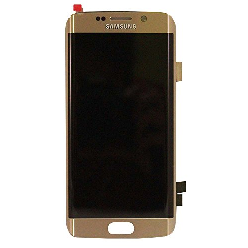 Touch Screen Digitizer and LCD for Samsung Galaxy S6 Edge - Gold Platinum - Edge Lcd