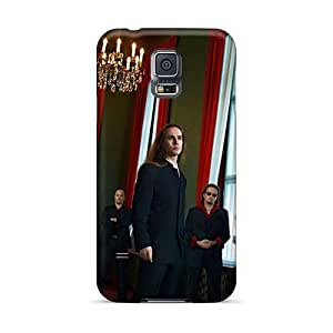 Protector Hard Phone Covers For Samsung Galaxy S5 (TKW360DGFx) Unique Design Colorful Dreamtale Band Pattern