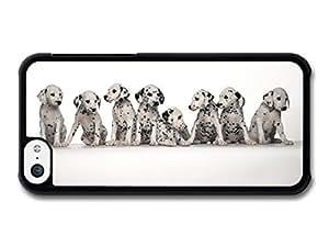MMZ DIY PHONE CASEAMAF ? Accessories Eight Cute Dalmatian Puppies case for iphone 5/5s