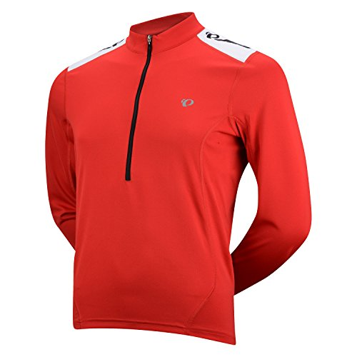 Pearl Izumi Men's Select Quest Long Sleeve Jersey, True Red, X-Large