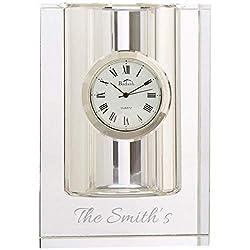 Badash Personalized 4 Pencil Holder Clock