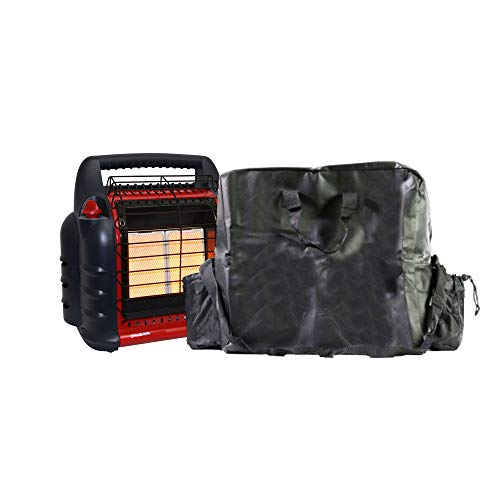 Mr Heater 4000 to 18000 BTU Big Buddy Propane Gas Heater w/B