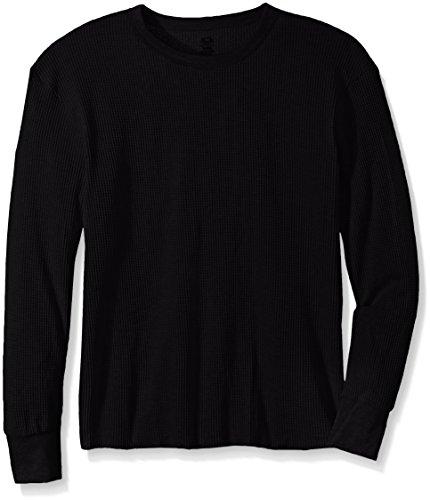 xl black thermal undershirt - 1