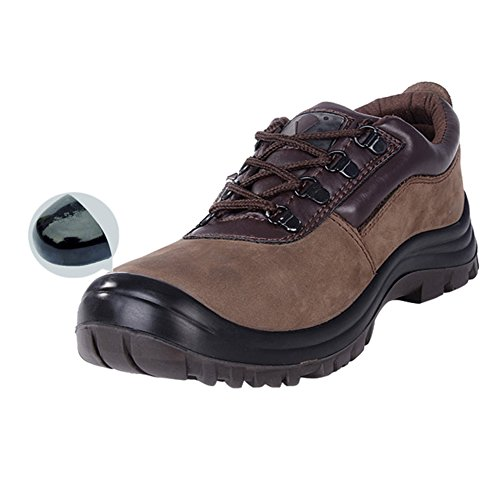 Steel PANCY Steel Waterproof Shoes Boots cut Men's Toe Safety Xg45 Work Toe low 4nntRY