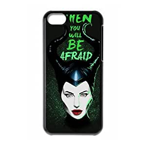 iPhone 5c Cell Phone Case Black MALEFICENT Xfwcc