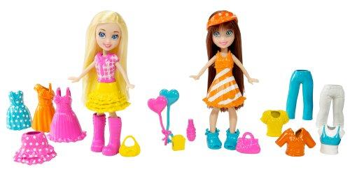 Polly Pocket Carnival Celebration Polly and Kerstie Fashion Bag, Baby & Kids Zone