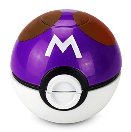Pokemon-Ball-Pokeball-Grinder-Tobacco-Weed-Spice-Herb-With-Pollen-Catcher-Master-Ball