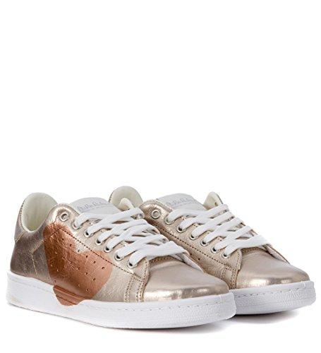 E Sneaker Nira In Pelle Rubens Platino Daiquiri Rame Cuore v5q7Yr5