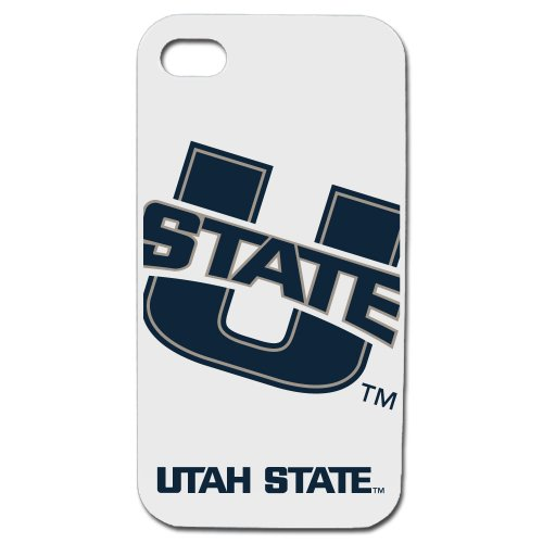 Utah State Aggies - Case for iPhone 4 / 4s - White