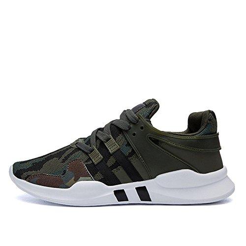 pour Chaussures de Automne haussures green Loisirs Mode sport hiver Courir et Chaussures army hommes Portable CqqwAX1