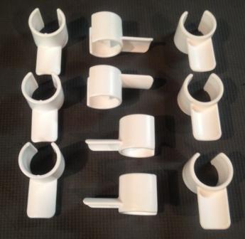 Agility Gear 1'' Molded Jump Cups - 10 Pack