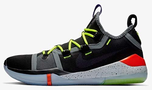 new products 70f87 80dd0 Nike Men s Kobe AD Black Racer Blue Mesh Basketball Shoes 11 M US