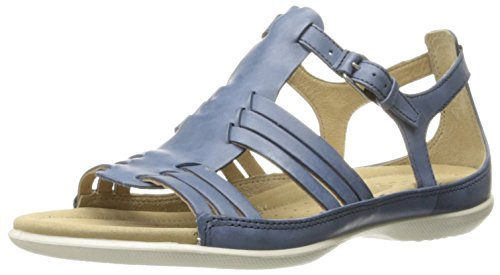 ECCO Footwear Womens Women's Flash Huarache Sandal II Huarache Sandal, Denim Blue, 42 EU/11-11.5 M (Ecco Flash)