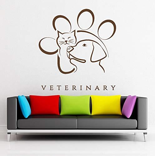Lovemq Medicina Veterinaria Animal Mascota Tatuajes De Pared De ...
