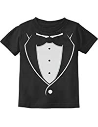 Printed Tuxedo With Bow-Tie Suit Funny Gift For Boys Toddler/Infant Kids T-Shirt