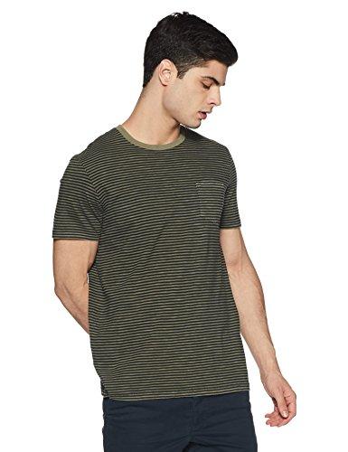 Homme kaki Celio shirt T Gepocketb Vert Camou CUC6qHwc