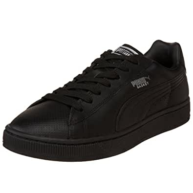 PUMA Men's Basket II Sneaker,Black/Black,13 D