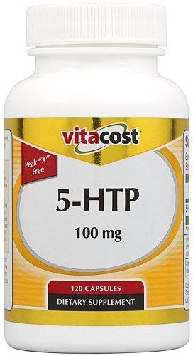 Vitacost 5-HTP -- 100 mg - 120 Capsules (Best Price 5 Htp)