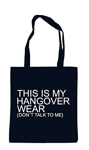 This Is My Hangover Wear Bag Black
