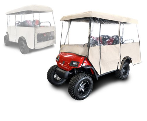 Madjax Universal Enclosure for Most Golf Cart Models Will fit Carts with 88'' Top by Madjax
