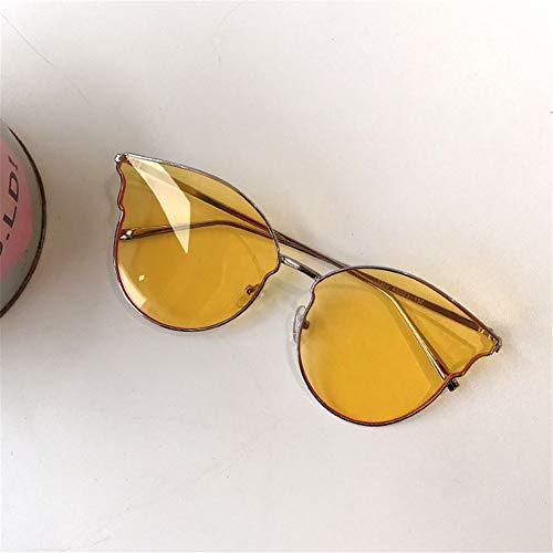 de delgadas verano Gafas personalidad la de NIFG sol del amarillas IFUqxXqvRw