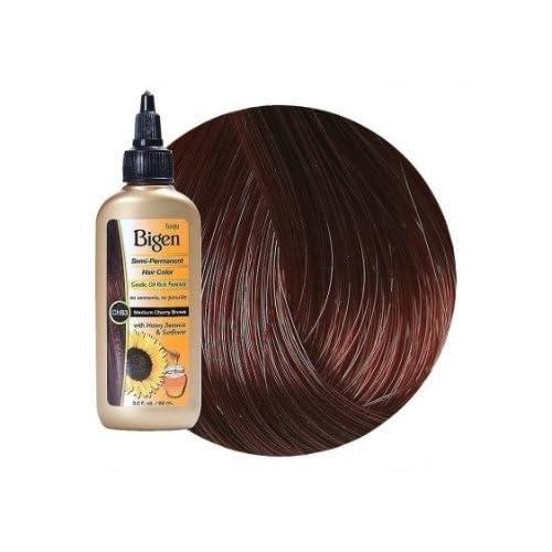 Discount Bigen Semi-Permanent Haircolor #Chb3 Medium Cherry Brown 3 Ounce (88ml) (3 Pack) for sale