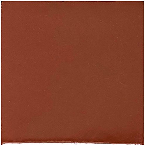 Rustico Tile and Stone TR4TERRACOTTA Terra Cotta Painted Tile, 4