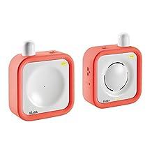 Beaba Minicall Waterproof, 1000FT Range, Digital Audio Baby Monitor - Coral