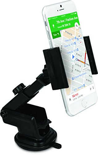 iHome IH-CM314B Car Mount for Universal Smartphones - Black