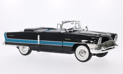 Packard Caribbean (Convertible), black/blue, 1955, for sale  Delivered anywhere in USA