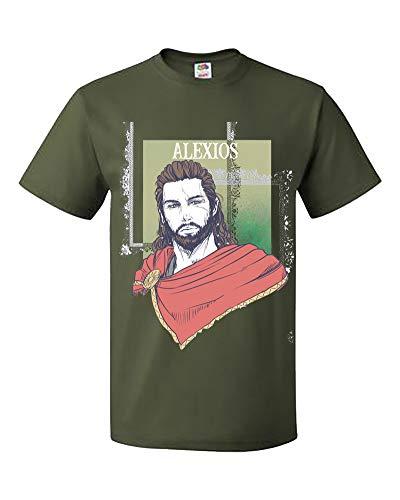 Price comparison product image Palalula Women's Assassins Creed Odyssey Kassandra Alexios Tshirt Tee Shirt Tribute T-Shirt M023 S Green