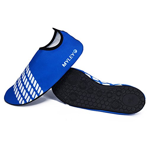 Beach Les Baskets Chaussures Swim D't Adulte Pour De Nus Surf Sport Nautique Blue Pieds Moresave PawSBp
