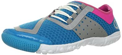 SKORA Women's Phase Running Shoe,Light Blue/Pink/White,5.5 M US