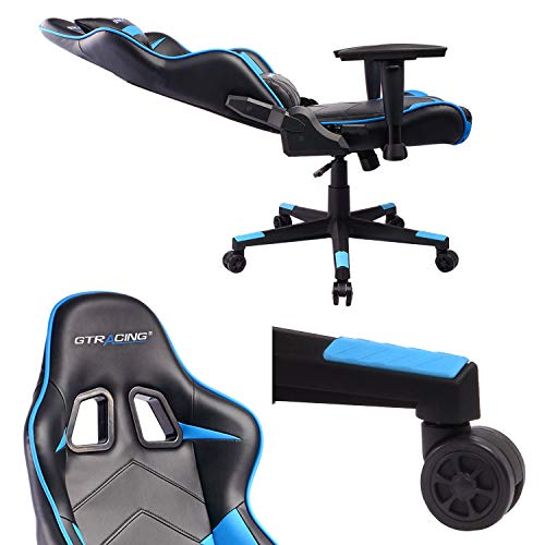 Gtracing Ergonomic Chair Racing Chair Backrest And Seat