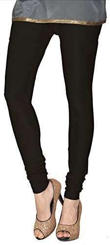 Womens-Churidar-4-Way-Stretchable-Shining-Leggings-India-Clothing-Bottoms