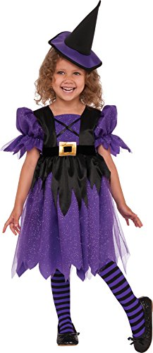 Rubie's Costume Sweet Witch Child Costume, Small, Multicolor ()