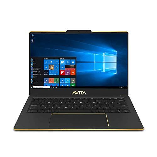 AVITA Liber NS14A8INF561-PAF 14-inch Laptop (10th Gen Core i5-10210U/8GB/512GB SSD/Window 10 Home/Integrated Graphics), Golden Matt Black, Special Edition