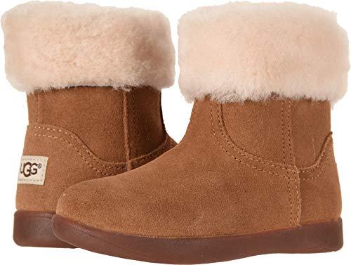 UGG Girls' T Jorie II Fashion Boot, Chestnut, 7 M US ()